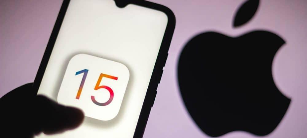 iOS 15 Apple. Imagem: Shutterstock