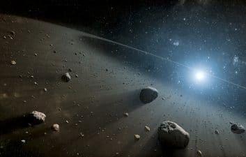 Matéria orgânica encontrada entre Marte e Júpiter tem pistas sobre formação do planeta Terra