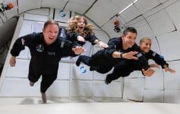 Inspiration 4: tripulação totalmente civil voa em gravidade zero pela primeira vez