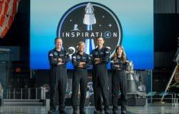 Tripulação da Inspiration 4 vai tirar sangue no espaço; entenda o porquê