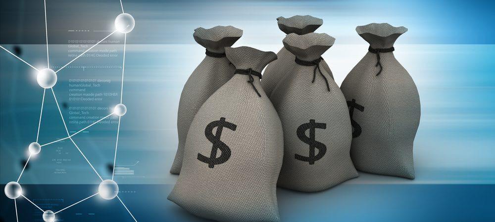 ilustração sacos de dinheiro