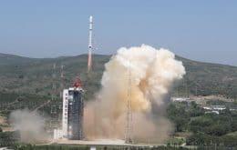 Em ritmo acelerado, programa espacial da China lança três missões em quatro dias