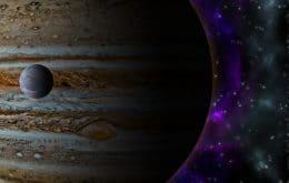 Hubble encontra primeira evidência de vapor de água em Ganimedes, lua de Júpiter