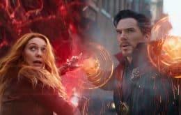 'Doutor Estranho 2' é o filme mais assustador da Marvel, diz Elizabeth Olsen