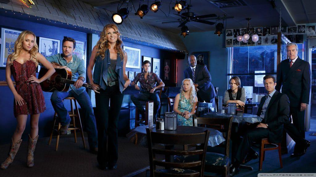 Foto promocional da série 'Nashville'. Imagem: Lionsgate/Divulgação