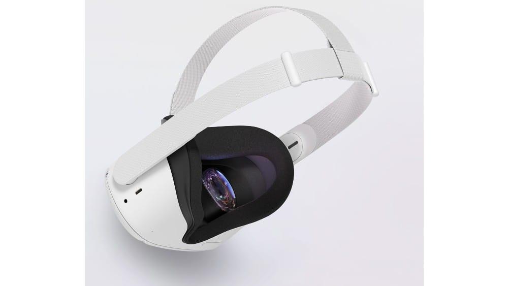 Imagem mostra o Oculus Quest 2, óculos de realidade aumentada e realidade virtual do Facebook