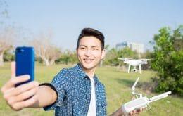 Selfie do futuro: fabricante chinesa registra patente de celular com câmera voadora
