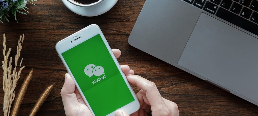Chinese application wechat