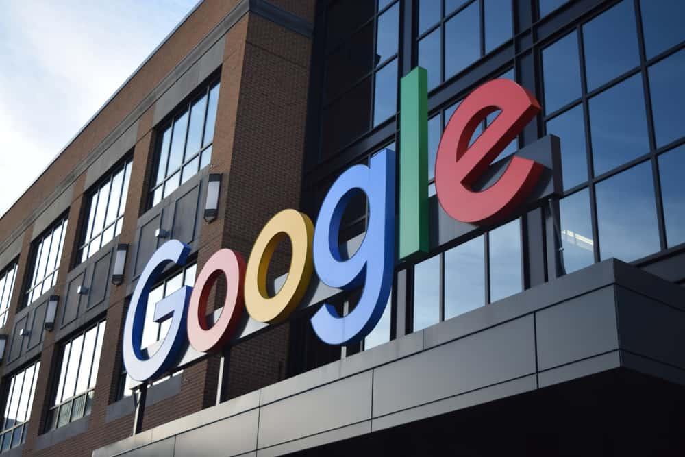 Fachada de um dos prédios do Google