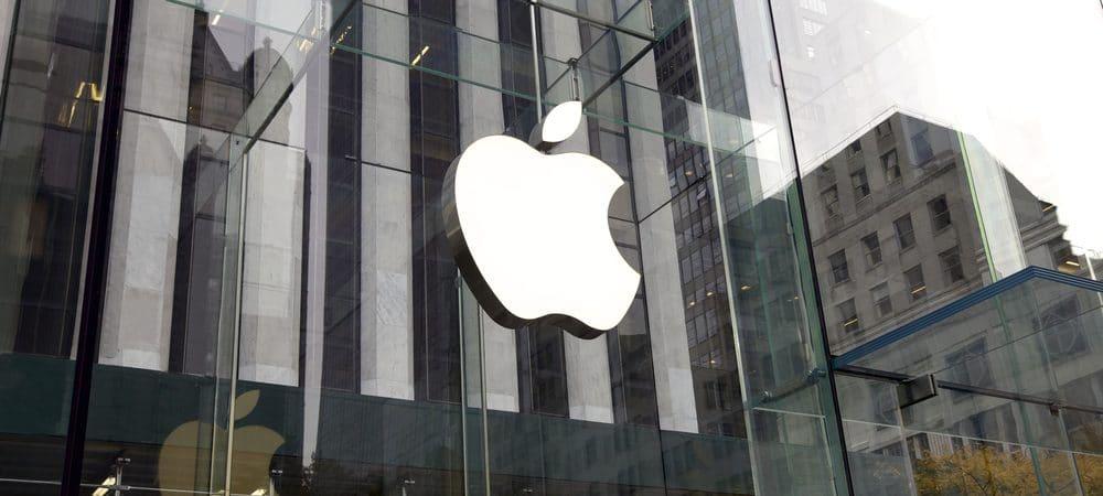 Fachada de uma Apple Store
