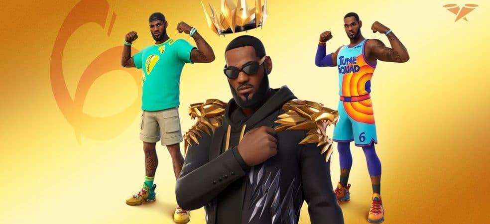 Fortnite: skin de LeBron James é revelada; confira detalhes. Imagem: Epic Games/Divulgação