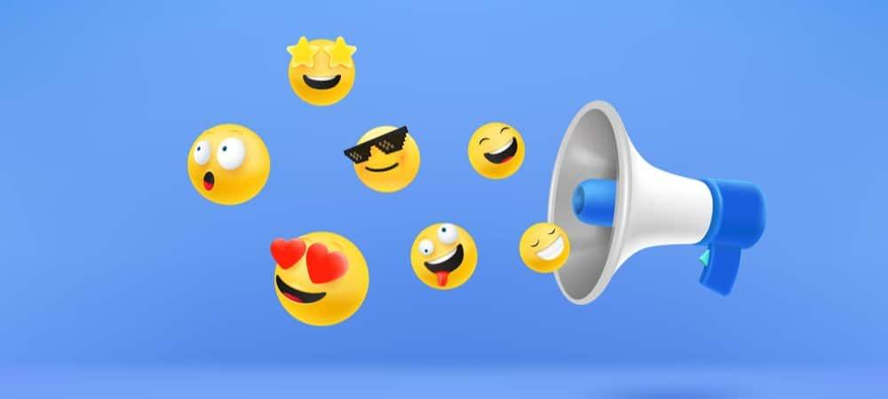 Si, ahora hay emojis con sonido en Messenger