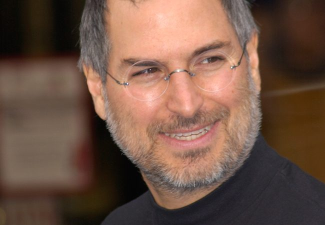 Steve Jobs, co-founder of Apple Computers
