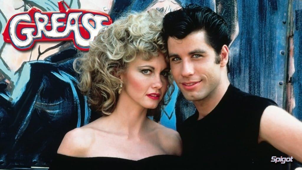 """Imagem oficial de 'Grease: Nos Tempos da Brilhantina"""", lançado em 1978. Imagem: Paramount Pictures/Reprodução"""