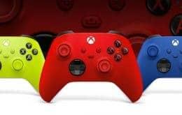 Controles do Xbox ganham novas opções de cores no Brasil