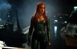 Amber Heard mostra treino com armas para 'Aquaman 2'