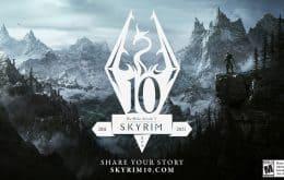 Edição de 10 anos de 'The Elder Scrolls V: Skyrim' é anunciada para PS5 e Xbox Series X/S