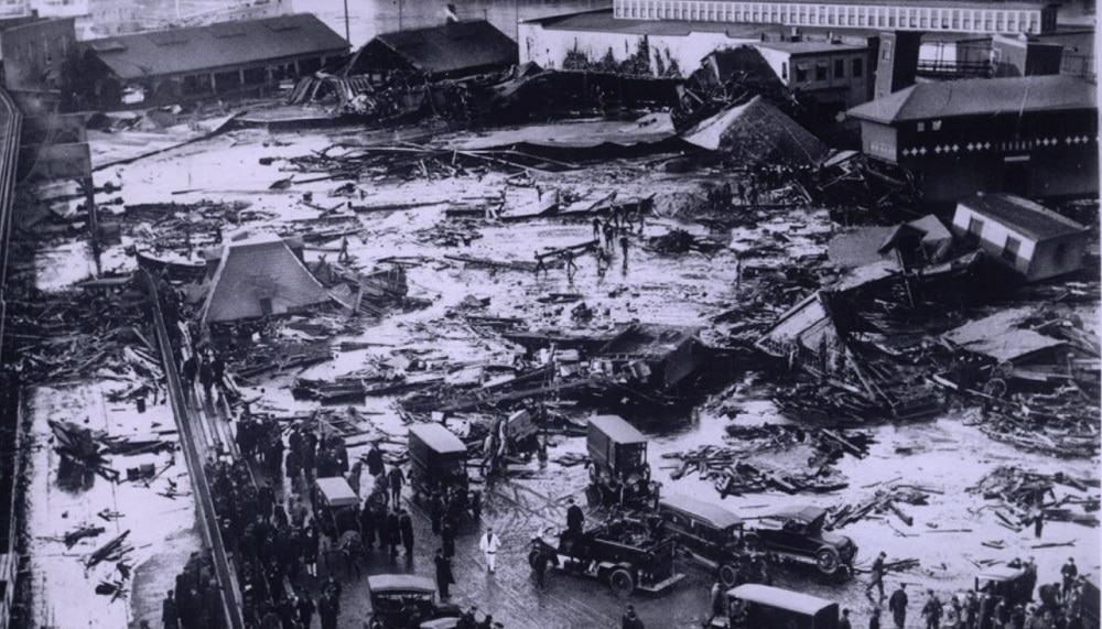 Área atingida pelo Dilúvio de Cerveja de Londres