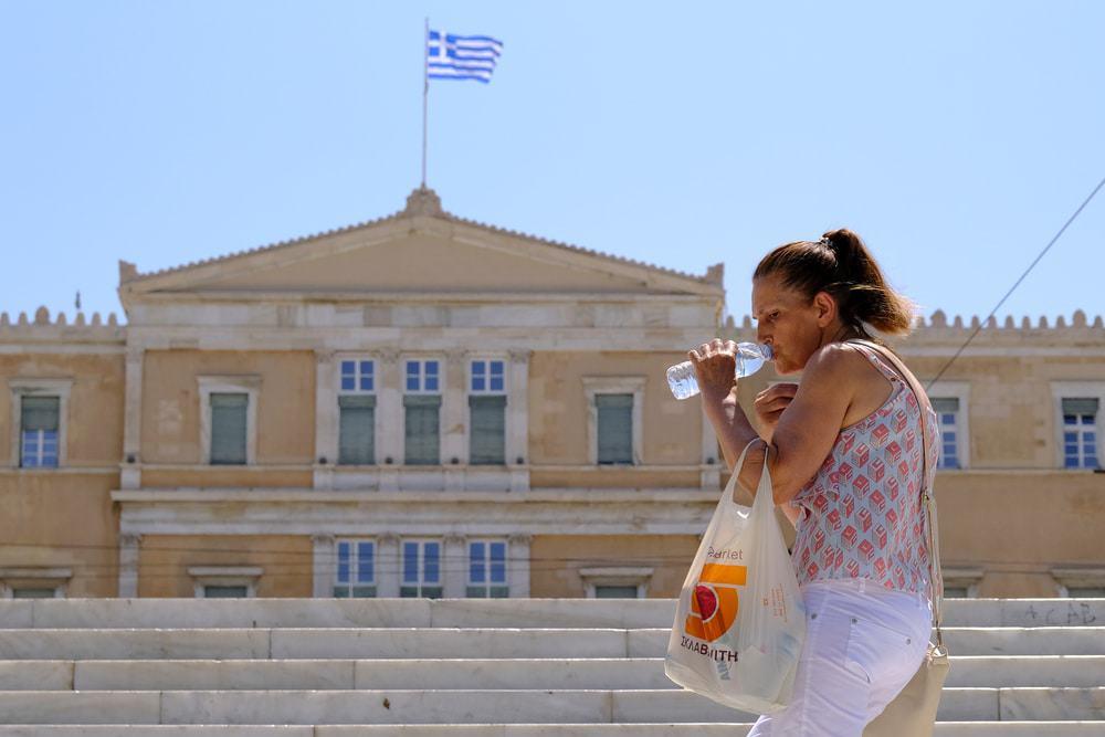 ondas de calor na Grécia
