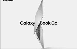 Galaxy Book go: Samsung lança laptop econômico com autonomia gigante