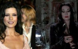'Família Addams': Catherine Zeta-Jones será 'Mortícia' em remake da Netflix
