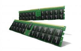 Samsung divulga especificações da memória RAM DDR5 de 512 GB