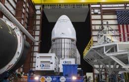 Lançamento da cápsula SpaceX Dragon para a ISS é adiado devido a mau tempo