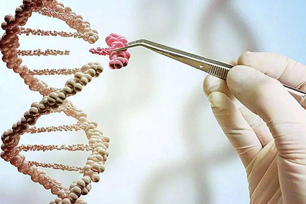 Imagem ilustrativa de edição de genes