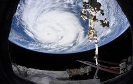 Astronautas tiram fotos impressionantes do furacão Ida visto do espaço