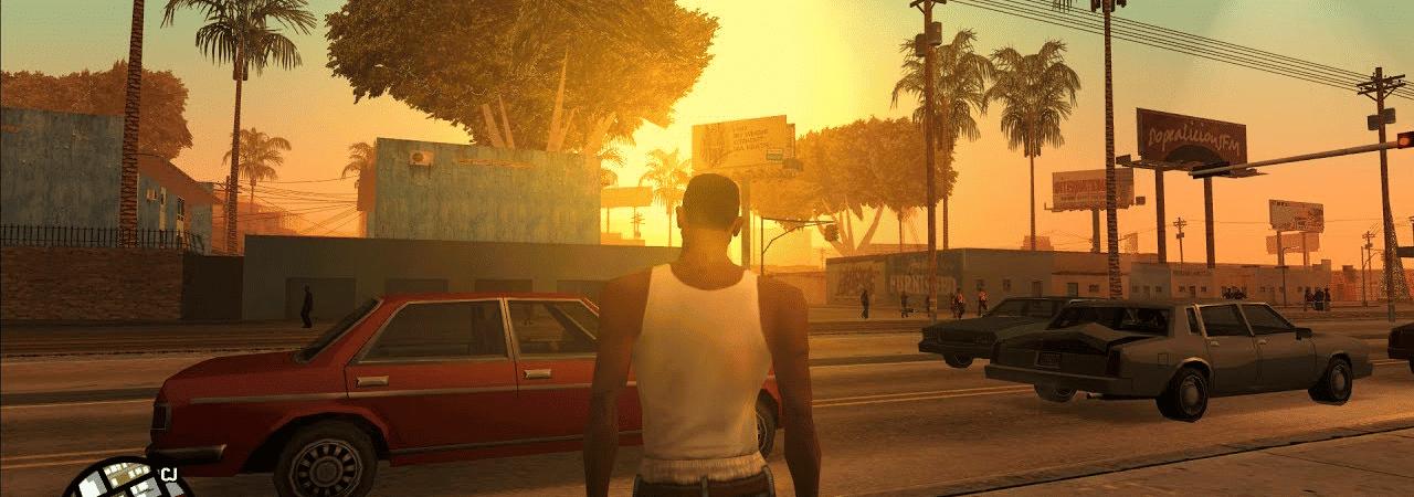 Carl Johnson, ou CJ, pode estar voltando em um remake de 'GTA San Andreas'. Imagem: Rockstar Games/Reprodução