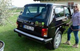 Lada Niva: empresa alemã transforma jipinho russo em carro elétrico