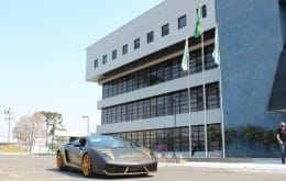 "Fast but not dangerous: federal police ""wins"" a Lamborghini vehicle"
