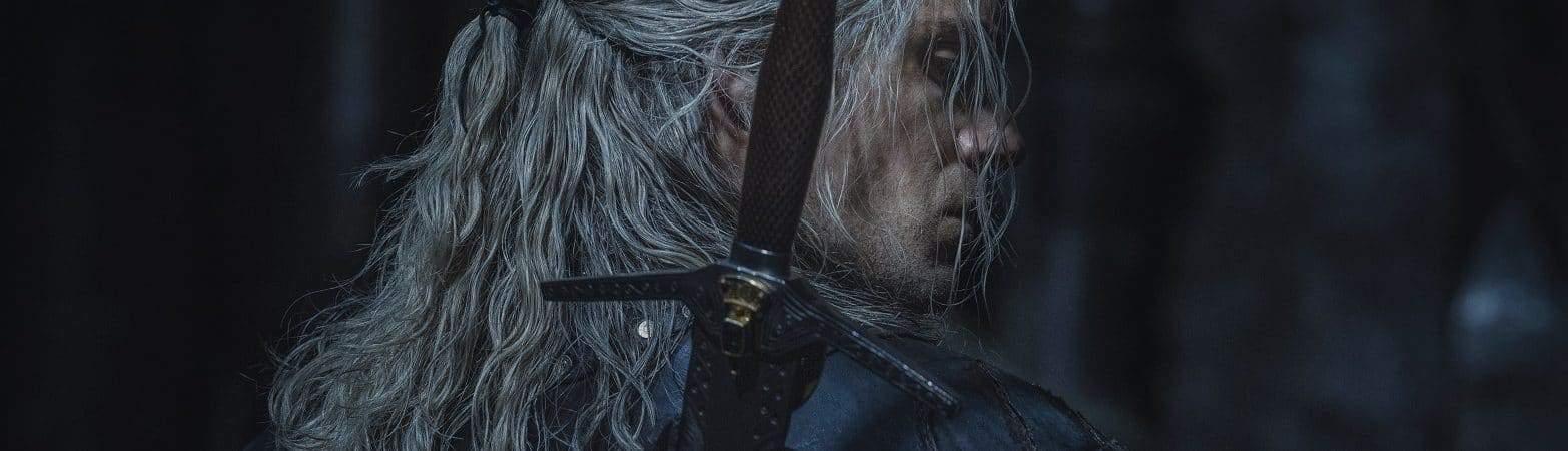 Henry Cavill como Geralt de Rivia em 'The Witcher'. Imagem: Jay Maidment/Netflix