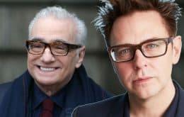 """James Gunn entende críticas de Martins Scorsese, mas rebate: """"quer ganhar atenção"""""""