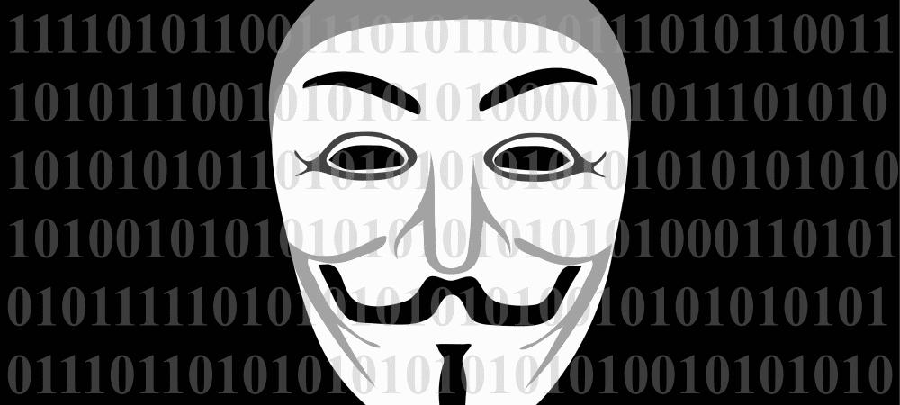 Máscara do personagem V de Vingaça