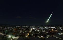 Meteoro ilumina el cielo de Piauí y pueden haber caído fragmentos al suelo