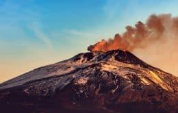 Entenda por que o Monte Etna cresceu em torno de 30 metros