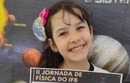 """Conheça a """"Nicolinha"""", que aos 8 anos é considerada a astrônoma mais jovem do mundo"""