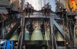 Hacia la órbita: SpaceX instala propulsores Raptor en el cohete Super Heavy