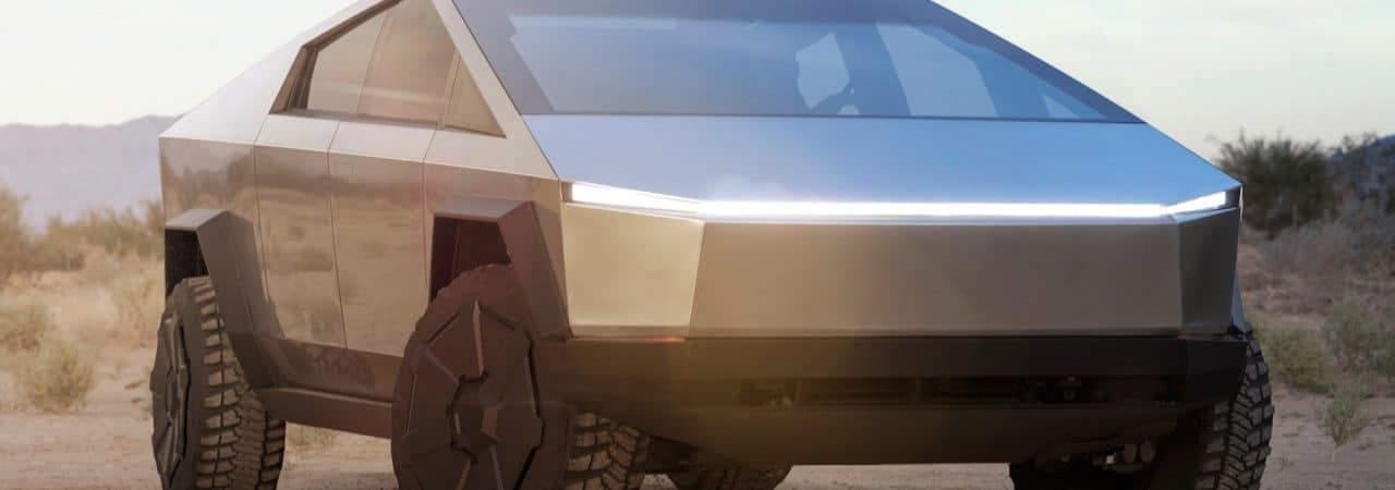 Cybertruck já é vendida e alugada aos brasileiros pelo Osten Group. Imagem: Divulgação/Tesla