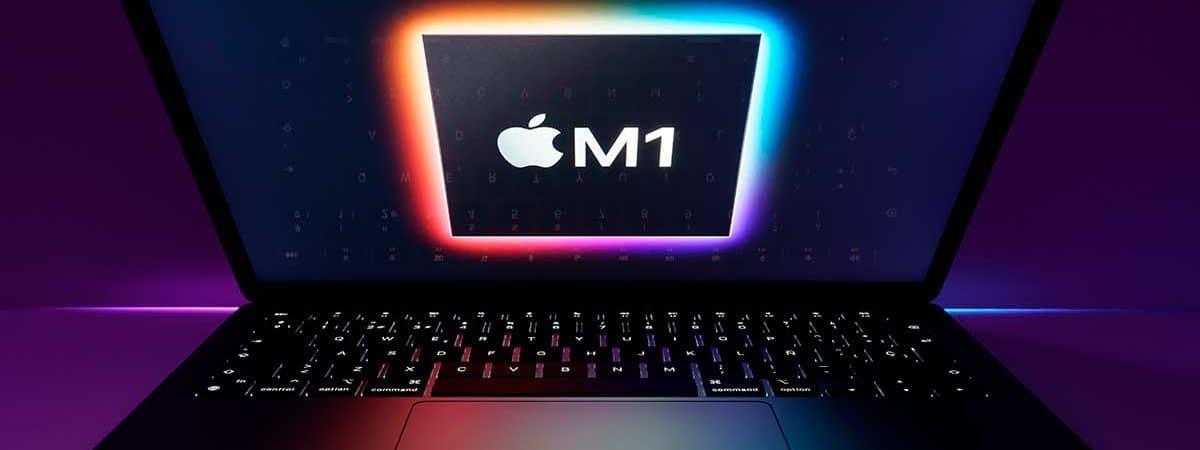 Novos rumores fortalecem teoria que Apple lançará novos MacBook Pro com processadores M1X. Imagem: Nanain/Shutterstock