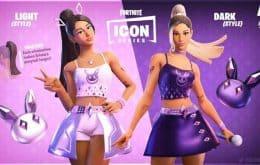 Ariana Grande ganha skin e show inédito no Fortnite