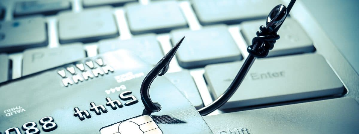 Imagem-conceito para ataque de phishing de cartão de crédito
