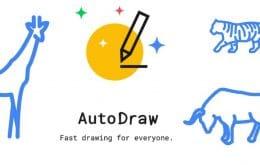 AutoDraw: ferramenta do Google transforma rabiscos em desenhos