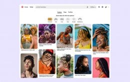 Pinterest lets you find photos according to hair type