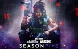 Batalhas fatais: temporada 5 de Call of Duty chega cheia de novidades