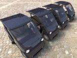 Squad é carro holandês movido a energia solar que não requer habilitação