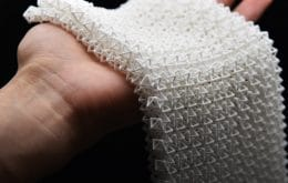 Caltech develops fabric that stays soft or stiff as the user needs it