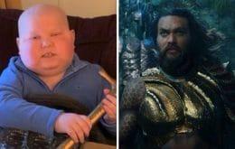 'Aquaman 2': Jason Momoa dedica filme a fã que morreu de câncer aos 8 anos