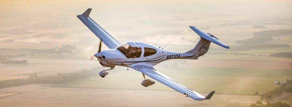 Diamond DA40 (Imagem: divulgação/Diamond Aircraft)